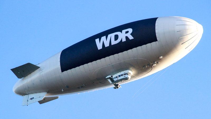 Heißluftballon, WDR, Fliegen, TV, Fernsehen, Medien, Fliegen