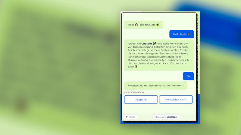Chatbot,Diskriminierung, Rassismus, Internet