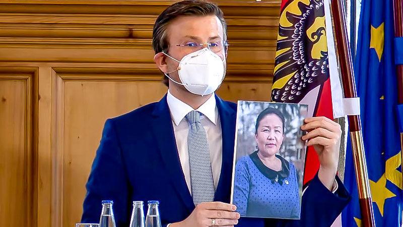 Nürnberger Menschenrechtspreis. Sayragul Sauytbay, China, Muslime, Uiguren