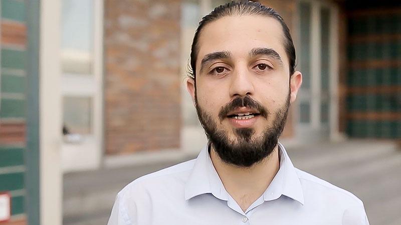 Tareq Alaows, Syrien, Syrer, Flüchtling, Bundestagskandidat, Die Grünen