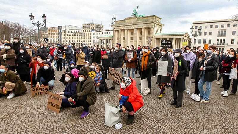 Demonstration, Demo, Berlin, Antiasiatischer Rassismus