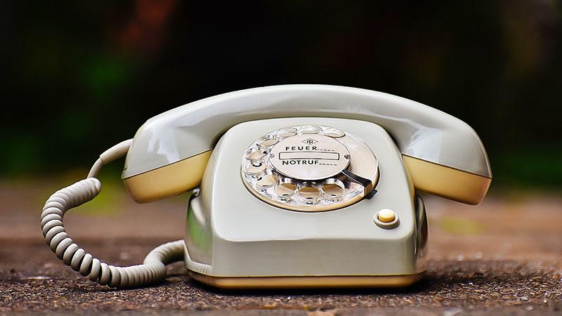Telefon, Klassisch, Wählscheibe, Kommunikation, Alt