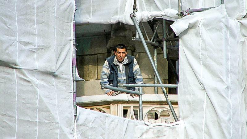 Flüchtlinge arbeiten meist unter schlechten Bedingungen