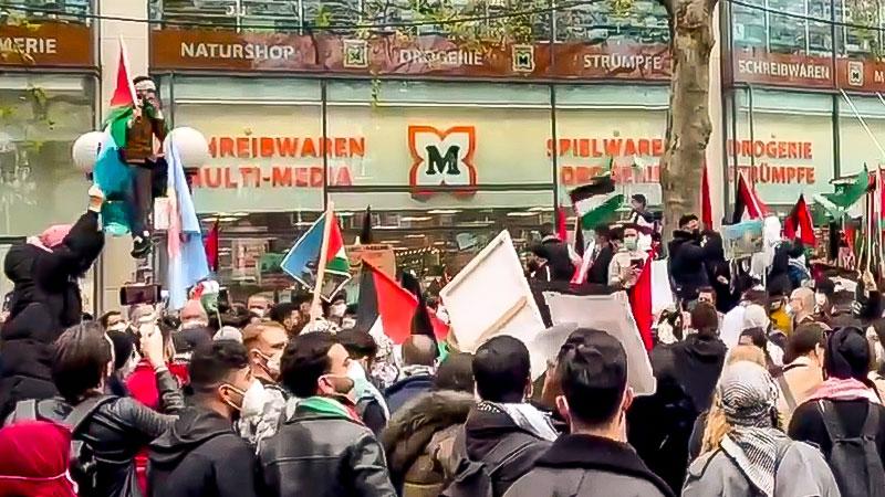 Demosntration, Demo, Palästina, Israel, Antisemitismus