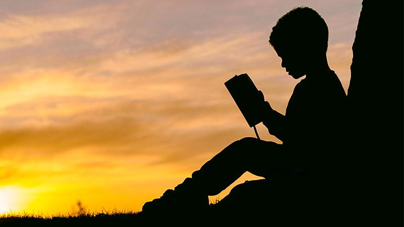 Kind, Lesen, Bildung, Schatten, Lernen, Schule