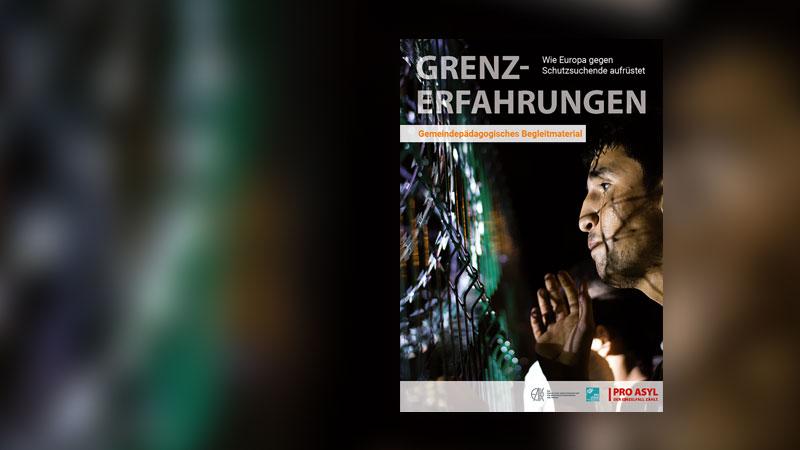 Plakat, Ausstellung, Grenzerfahrungen, Flucht, Flüchtling, Flüchtlingspolitik