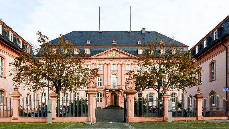 Rheinland-Pflaz, Landtag, Gebäude, Parlament, Politik, Bäume