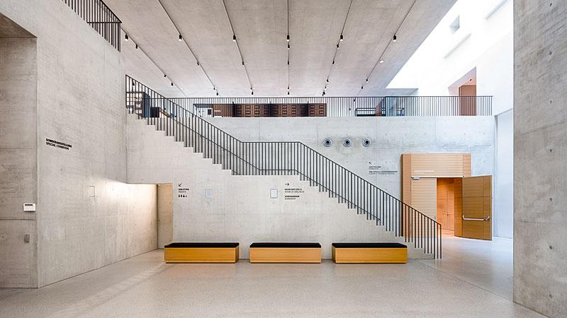 Ausstellung, Museum, Foyer, Gebäude, Eingang, Vertreibung