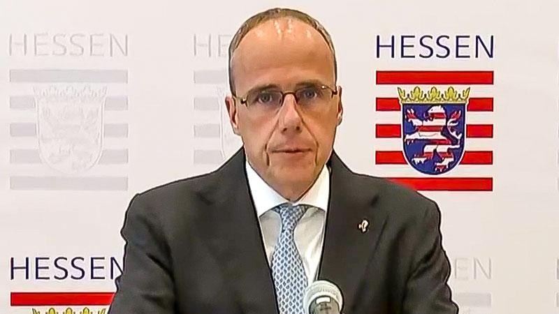 Peter Beuth, Innenminister, Hessen, CDU, Rechtsextremismus, Polizei