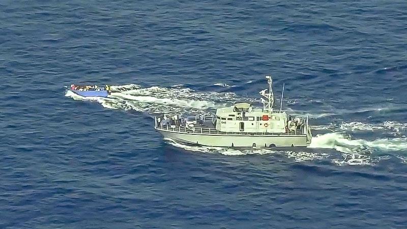 Sea Watch, Mittelmeer, Libysche Küstenwache, Flüchtlinge, Seenotrettung