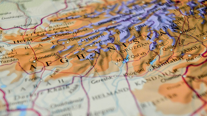 Afghanistan, Karte, Landkarte, Weltkarte, Land