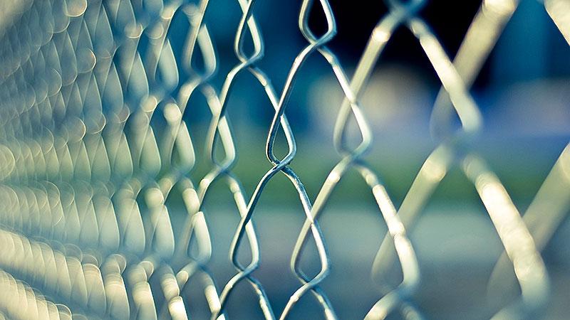 Maschendrahtzaun, Abschiebung, Gefängnis, Grenze