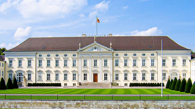 Schloss Bellevue, Bundespräsident, Präsident, Berlin, Schloss